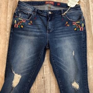 Lucky Skinny Jeans Womens Size 14